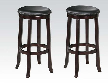 Acme Furniture 04733 Chelsea Series Residential Bycast Leather Upholstered Bar Stool