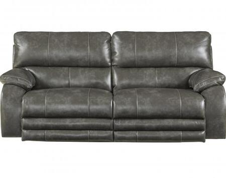 Catnapper 764271115278125278 Sheridan Series  Faux Leather Sofa