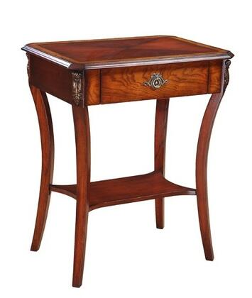 Gail's Accents 30042ET Classic Series Contemporary Square End Table