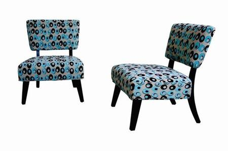 Wholesale Interiors Y372D036SET Living Room Chairs