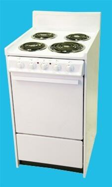 """Haier HER203AAWW 20"""" Electric Freestanding"""