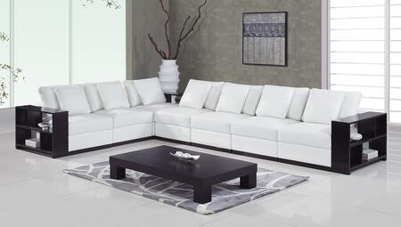Global Furniture USA A1302  Leather Sofa