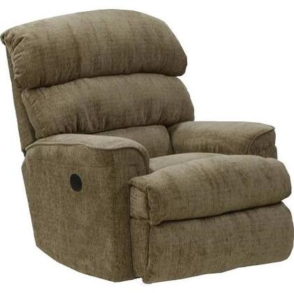 "Catnapper Pearson Collection 38"" Recliner with Pub Back, Coil Seating System, Comfor-Gel Memory Foam Inserts, Smoothest Power Motor and Chenille Fabric Upholstery"