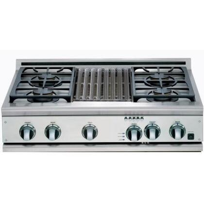 DCS CP364GLSSN  Gas Sealed Burner Style Cooktop