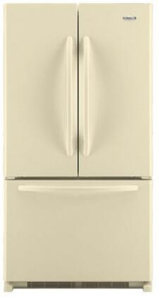 "Whirlpool GX5FHDXV 36"" 24.8 cu. ft. French Door Refrigerator with SpillProof Shelves, Factory Installed IceMaker and Automatic Defrost in"
