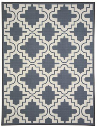 "Signature Design by Ashley Jacory R29100 79"" x 60"" Medium Size Rug with Nylon Material, Machine-Tufted, Made in Egypt, Spot Clean Only and Backed with Canvas in Color"
