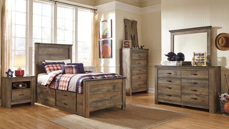 Signature Design by Ashley Trinell Bedroom Set B446TPSBDM2NC