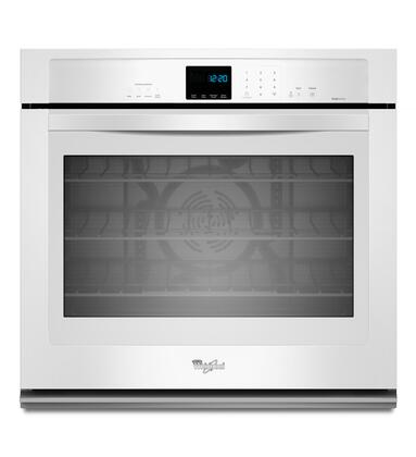 "Whirlpool WOS92EC7AW 27"" Single Wall Oven , in White"