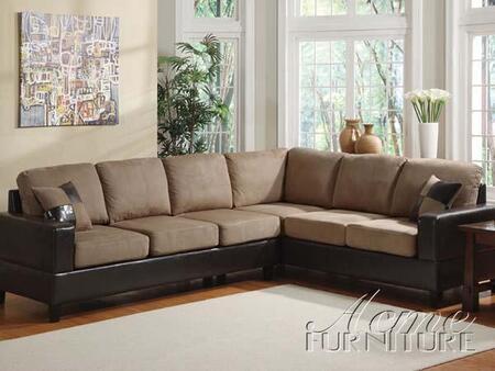 Acme Furniture 15300 Madrid Series  Bycast PU Sofa