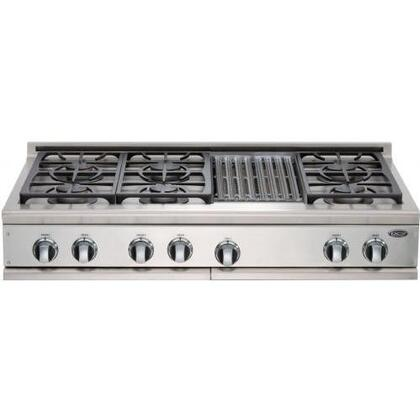 DCS CP486GLSSN  Gas Sealed Burner Style Cooktop, in Stainless Steel