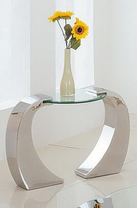 Acme Furniture 07572 Metro Series Contemporary Metal Rectangular End Table