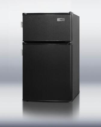 Summit CP35BLL  Compact Refrigerator with 2.9 cu. ft. Capacity in Black