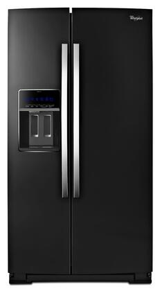 "Whirlpool WRS970CID 36"" Side-by-Side Counter-Depth Refrigerator with 19.8 cu. ft. Capacity, StoreRight Dual Cooling System, External Ice Maker and Water Dispenser, and LED Lighting in"