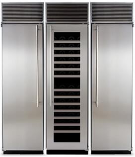 Marvel 704180 Side-By-Side Refrigerators