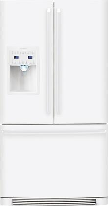 Electrolux EI27BS26JW IQ-Touch Series  French Door Refrigerator with 26.7 cu. ft. Total Capacity 4 Glass Shelves