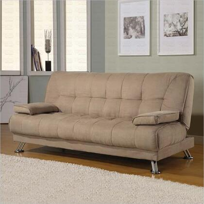 Coaster 300147  Convertible Microfiber Sofa