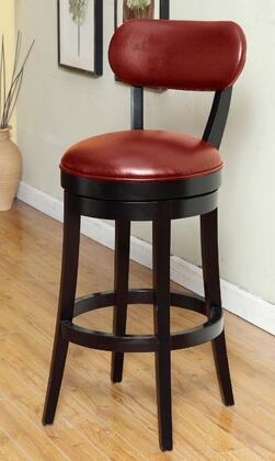 Armen Living LC4022BARE30 Residential Bycast Leather Upholstered Bar Stool