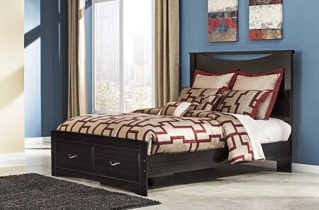 Signature Design by Ashley B2175754S95B10013 Zanbury Series  Queen Size Panel Bed