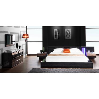 VIG Furniture ALASKAQUEENSET 5 Piece Bedroom Set