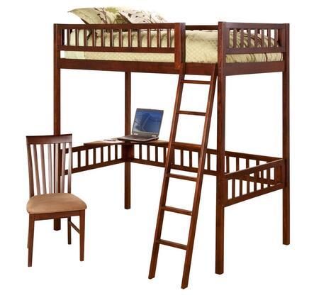 Atlantic Furniture AB62004  Twin Size Loft Bed