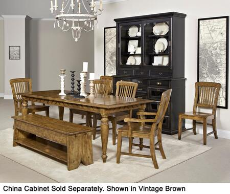 Broyhill 4809DT2AC4SCB New Vintage Dining Room Sets