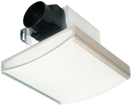 Air King AKLC70SLx Exhaust Fan with 70 CFM, Lighting, 23 Gauge Galvanized Metal Housing
