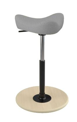 "Varier MOVE SMALL 2700 UMAMI 22"" - 32"" Sit-Stand Chair with Umami Upholstery,"