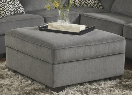 Signature Design by Ashley 1270011 Loric Series Contemporary Fabric Ottoman