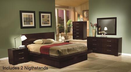 Coaster 200711KESET6 King Bedroom Sets