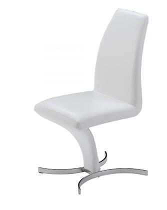 prague dining chair, white, set of 2 10