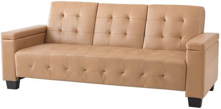 Glory Furniture G741S  Convertible Faux Leather Sofa