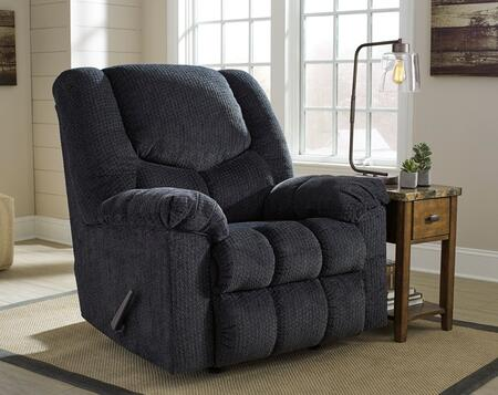 Flash Furniture FSD1459RECSLAGG Turboprop Series Contemporary Fabric Metal Frame  Recliners