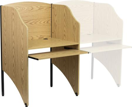 Flash Furniture MTM6201OAKGG Computer  MDF Desk