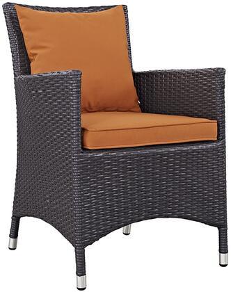 Modway EEI1913EXPORA Convene Series  Aluminum Frame  Patio Arm Chair
