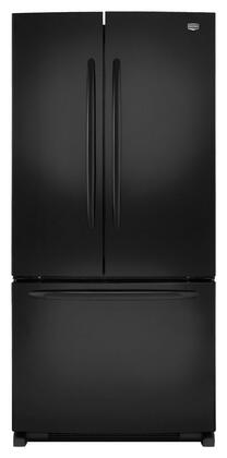 Maytag MFF2258VEB  French Door Refrigerator with 21.5 cu. ft. Total Capacity 4 Glass Shelves