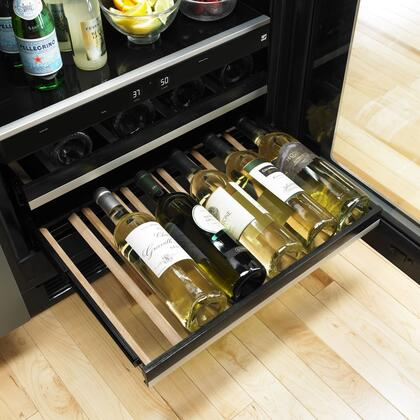 Jenn Air Juw24frers 24 Inch Stainless Steel Built In Wine Cooler