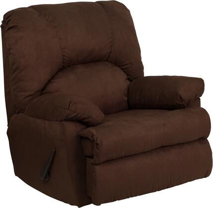 Flash Furniture WM8500263GG Contemporary Microfiber Wood Frame Rocking Recliners |Appliances Connection