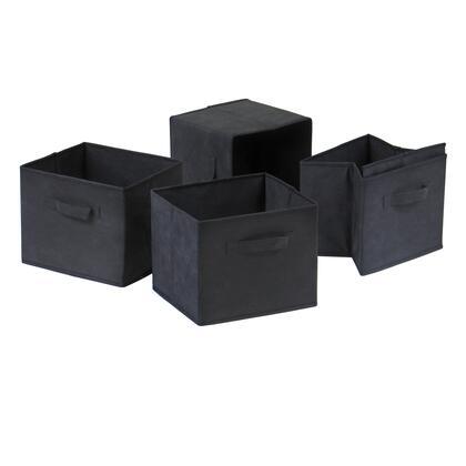 Winsome Capri4 Capri Set of 4 Foldable Fabric Baskets
