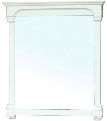 "Bellaterra Home 205050-MIRROR- 42"" Wood Frame Bathroom Mirror"
