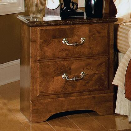 Standard Furniture 51107 San Miguel Series Rectangular Wood Night Stand