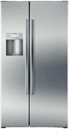 Bosch B22CS80SNS Freestanding Side by Side Refrigerator |Appliances Connection