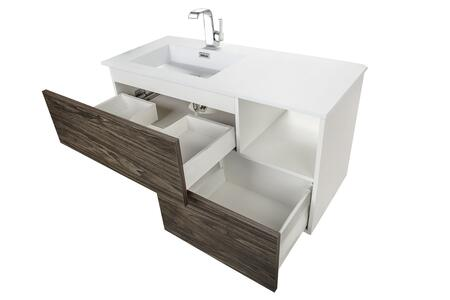 ... Cutler Kitchen And Bath Sangallo Drawers Open ...