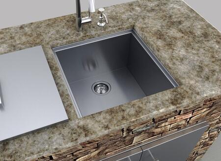 Sunstone Bsk20 20 50 Inch Undermount Outdoor Sink