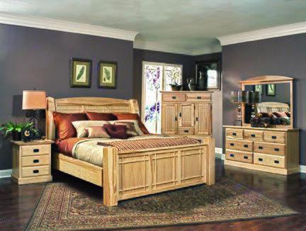 AHINT5070 QUEEN PANEL BED ROOM