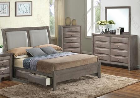 Glory Furniture G1505DDTSB2DM G1505 Twin Bedroom Sets