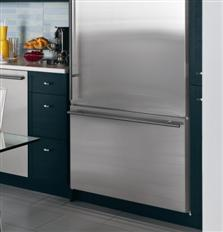 Integrated appearance with stainless steel