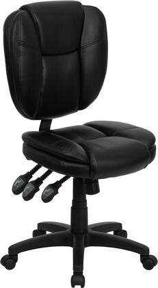 "Flash Furniture GO930FBKLEAGG 19.75"" Contemporary Office Chair"