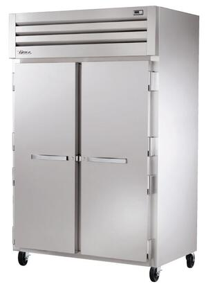 True STG2F Spec Series Two-Section Reach-In Freezer with 56 Cu. Ft. Capacity, LED Lighting, and Swing-Door