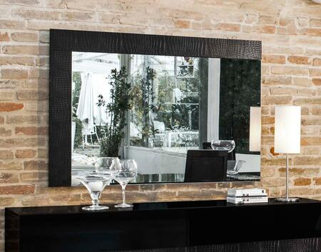 VIG Furniture VGACANCONAMIRRORBLK Modrest Ancona Series Rectangular Landscape Wall Mirror