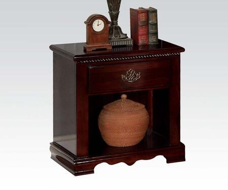 Acme Furniture 12483 Savannah Series Rectangular Wood Night Stand